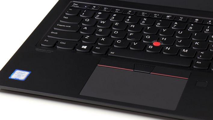 ThinkPad X1 Carbon dolby atmos Intel Core badges