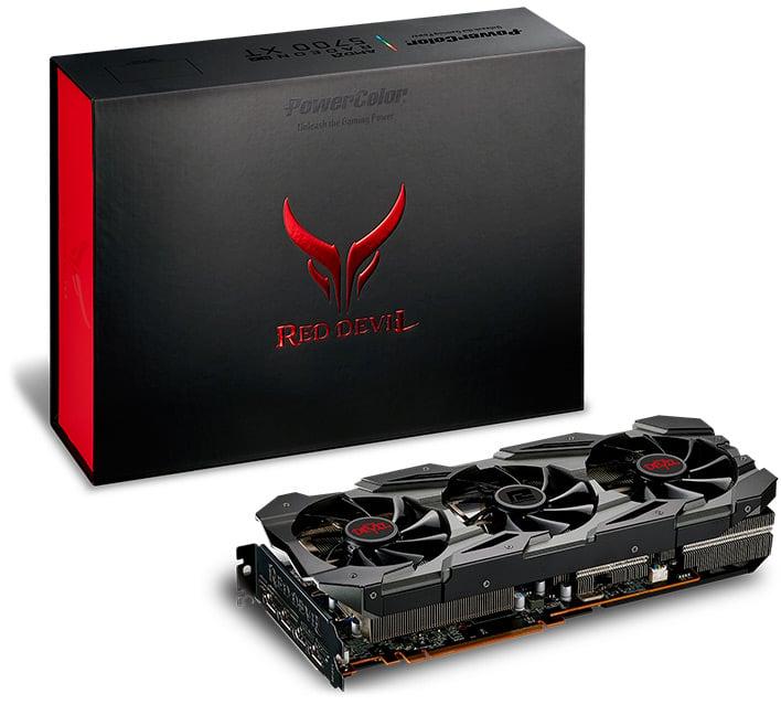red devil 5700xt box