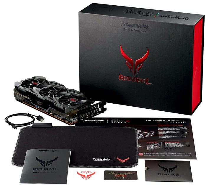 red devil 5700xt bundle