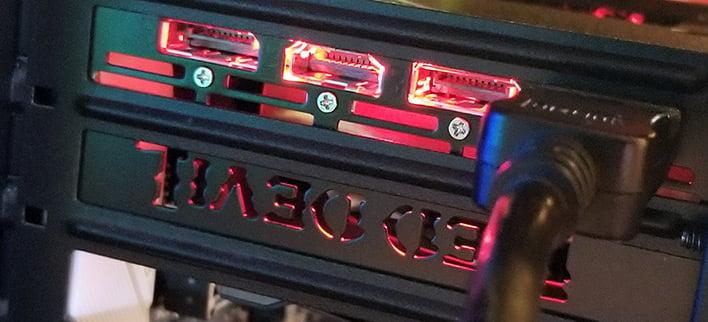 red devil connectors