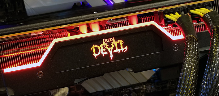 red devil installed