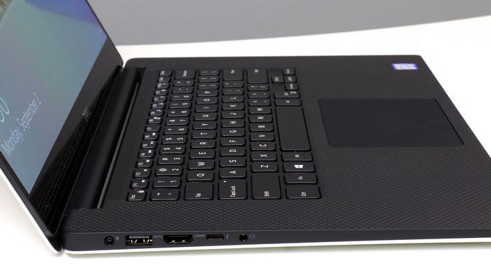 Dell XPS 15 Ports Left