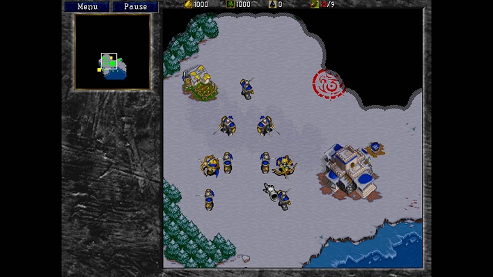 WarCraft II regular scaling
