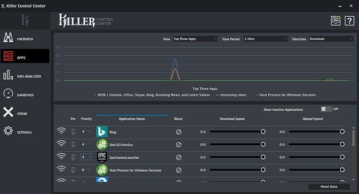 Killer Command Center - Apps