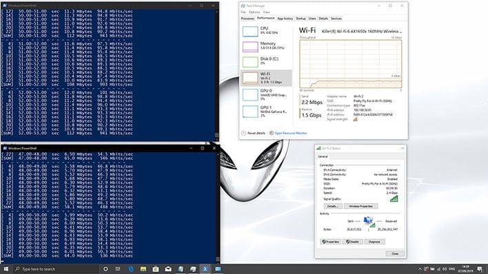 Killer Wi-Fi 6 AX1650 Testing