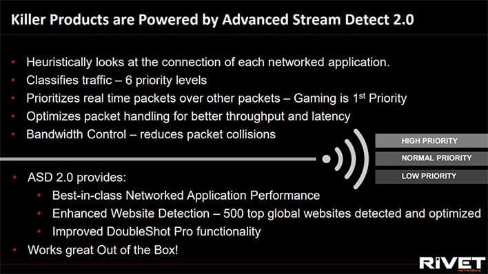 Killer Wi-Fi 6 AX1650 Advanced Stream Detect
