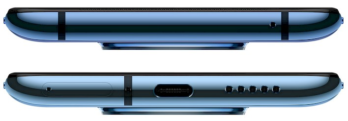 oneplus 7t top and bottom
