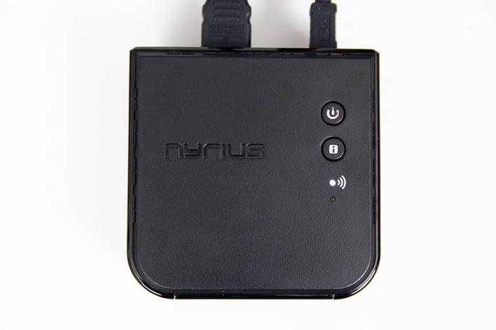 nyrius aries hdmi receiver top