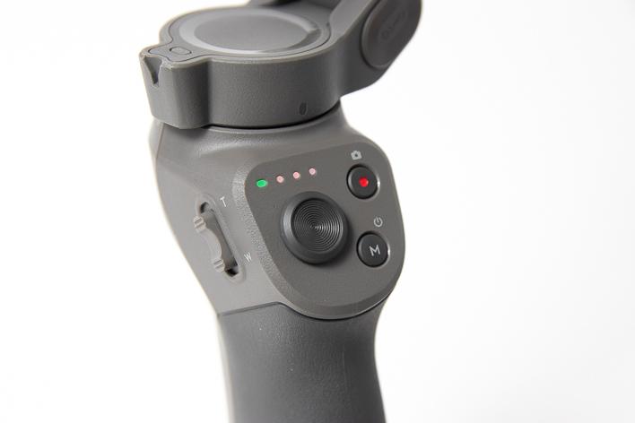 dji osmo mobile 3 button closeups