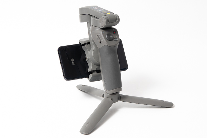 dji osmo mobile 3 collapsed with phone