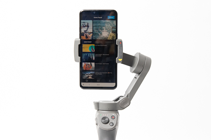 dji osmo mobile 3 mimo app connected
