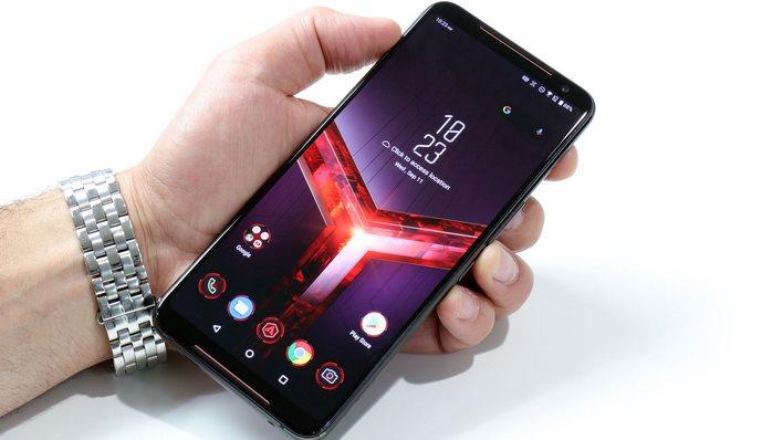 ASUS ROG Phone II In Hand