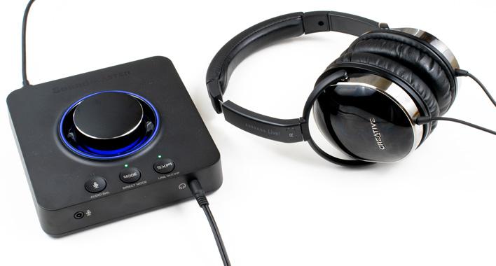 auria live sound blaster x3