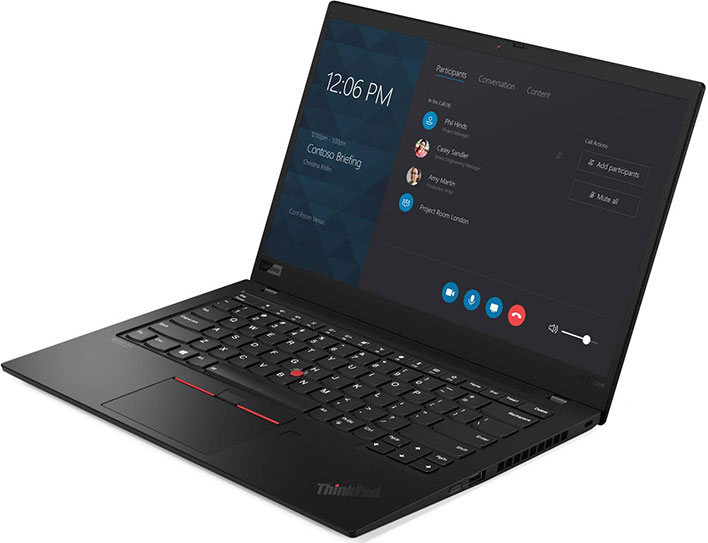ThinkPad X1 Extreme Gen 2 open