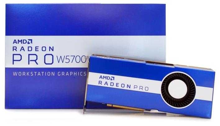 radeon pro w5700 box