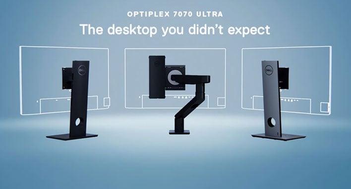 dell optiplex 7070 ultra stand configs
