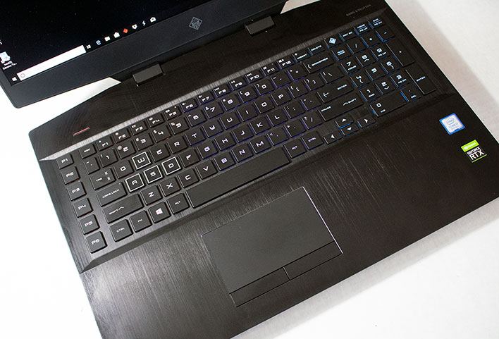 HP Omen 17 Keyboard