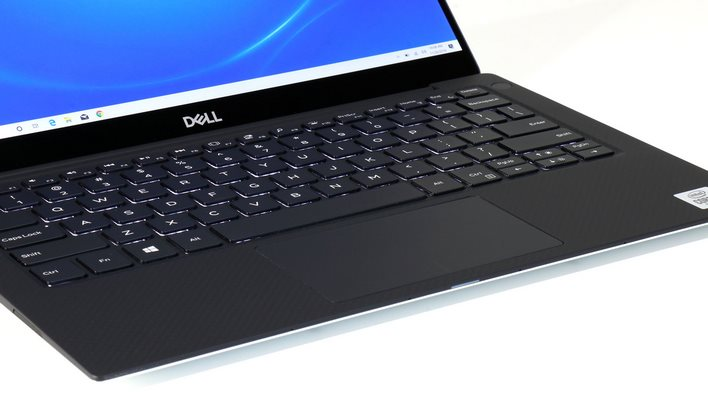 dell xps 13 keyboard track pad