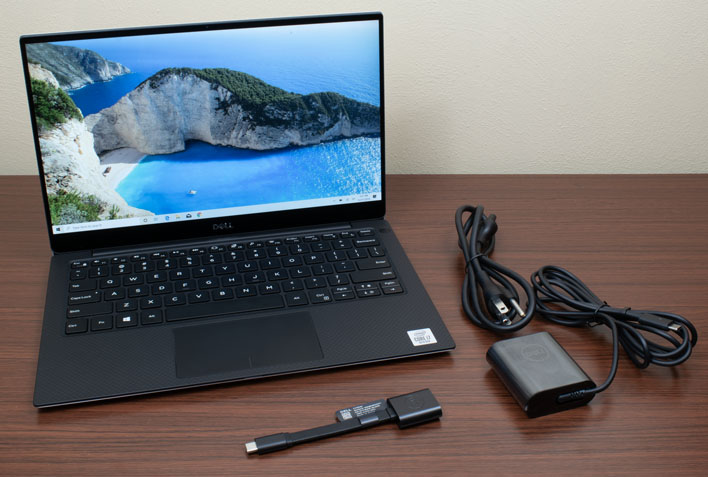 xps 13 7390 with charger