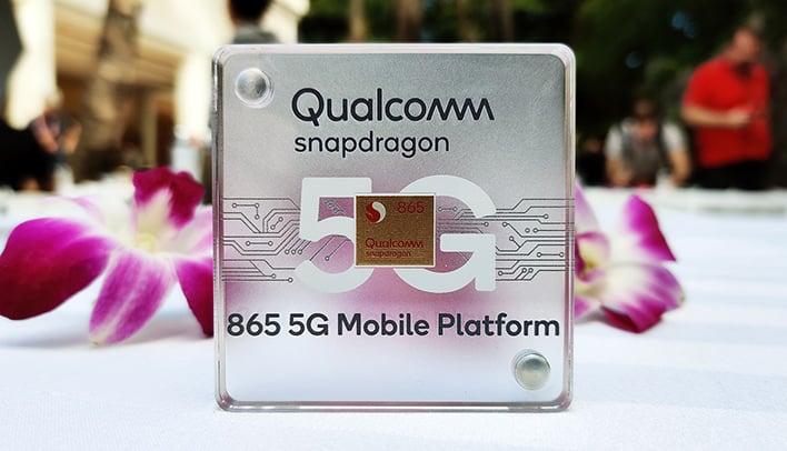 snapdragon 865 chip
