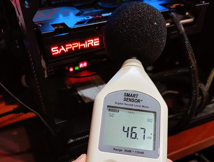 sapphire 5600xt sound level