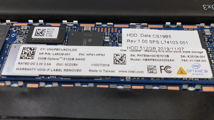 combination optane ssd hp elite dragonfly