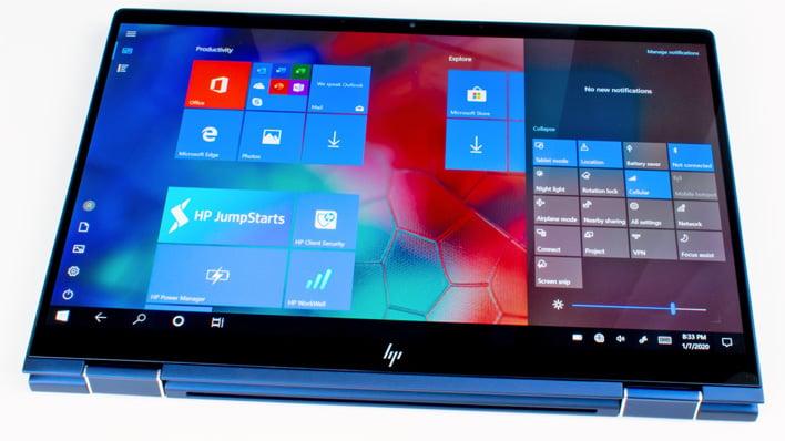 tablet hp elite dragonfly