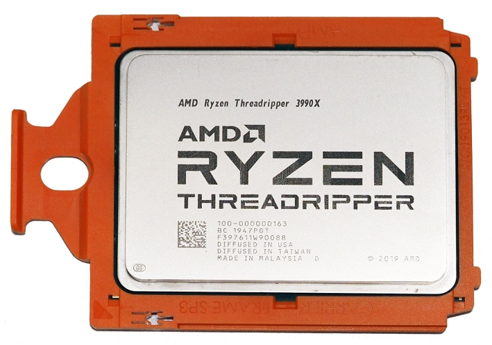 amd threadripper 3990x top