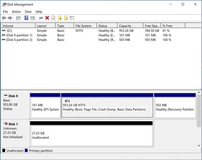 optane memory disk man