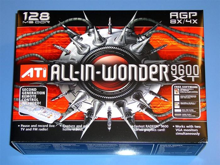 ATi All In Wonder Radeon 9600 XT