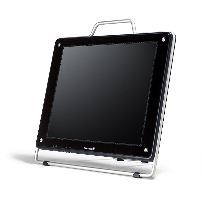 "Shuttle XP17 - A high end 17"" flat panel to go"