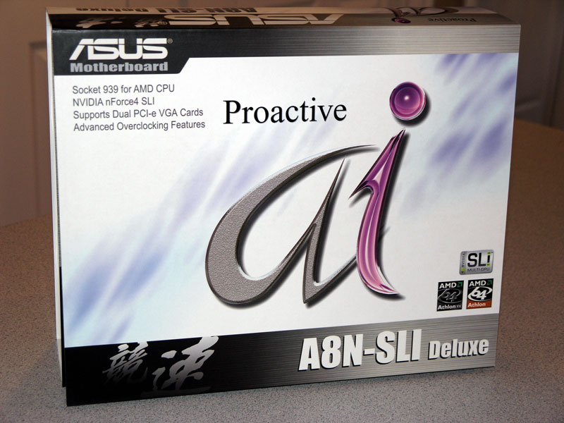 NVIDIA SLI & ASUS A8N-SLI Deluxe Performance Showcase
