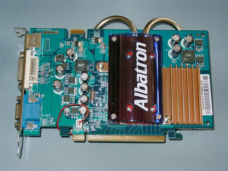 Albatron PC6600U GeForce 6600 Video Card