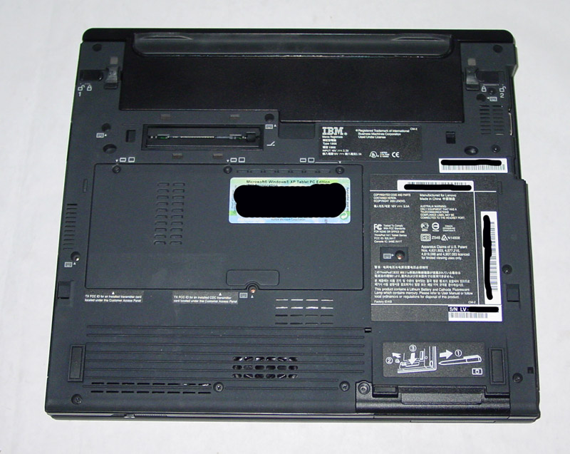 IBM/Lenovo ThinkPad X41 Tablet