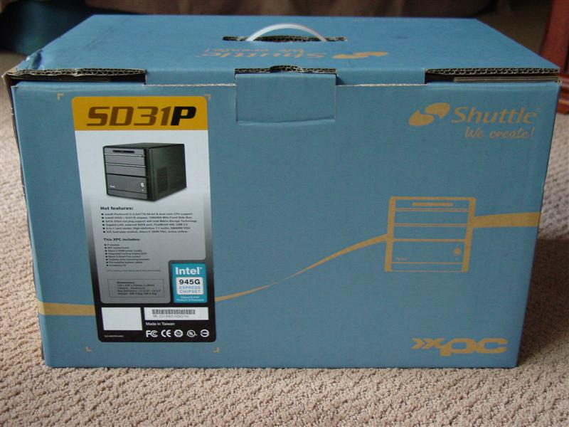Shuttle SD31P Small Form Factor XPC