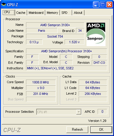 AMD Sempron 3400+ Launch