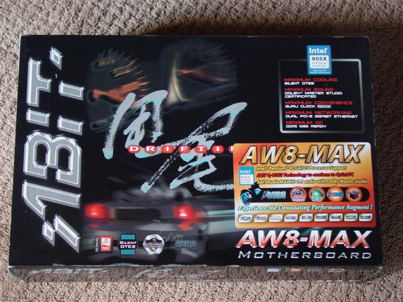 Abit AW8-MAX i955X Motherboard