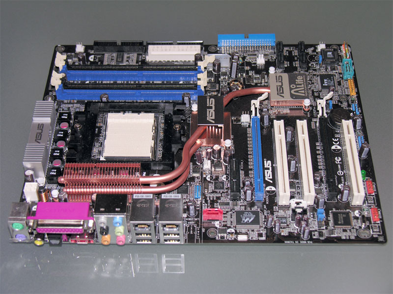 ASUS A8N32 SLI Deluxe - nForce 4 SLI X16 Unleashed