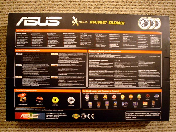 ASUS Extreme N6600GT Silencer