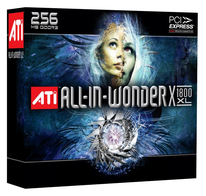 ATI All-In-Wonder Radeon X1800 XL