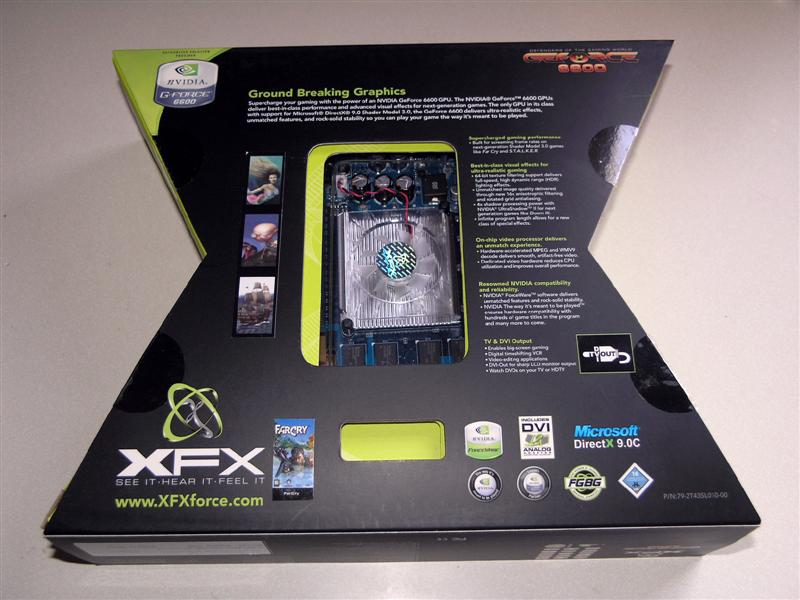 XFX GeForce 6600 256MB DDR2