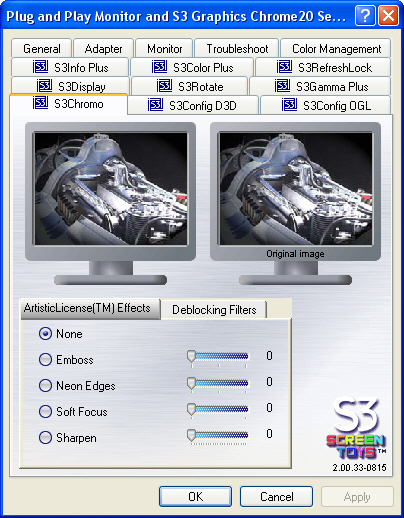 S3 Graphic's Chrome S27