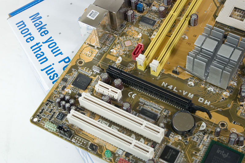 Asus N4L-VM DH Core Duo Motherboard