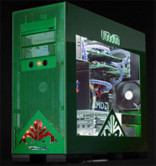 Voodoo PC OMEN a121x CrossFire Extreme Gamer PC