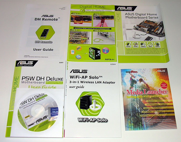 Asus P5W DH Deluxe, 975X Core 2 Duo Ready Motherboard