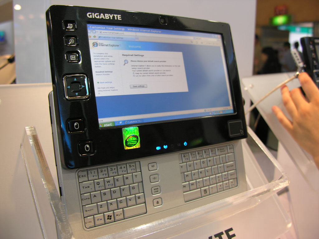Computex 2007: Intel, Kingston, Foxconn, Gigabyte