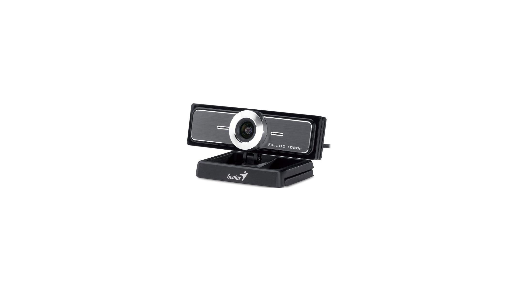Webcam WideCam F100 Genius 120 Degree Ultra with MIC Angle for Computer Full HD