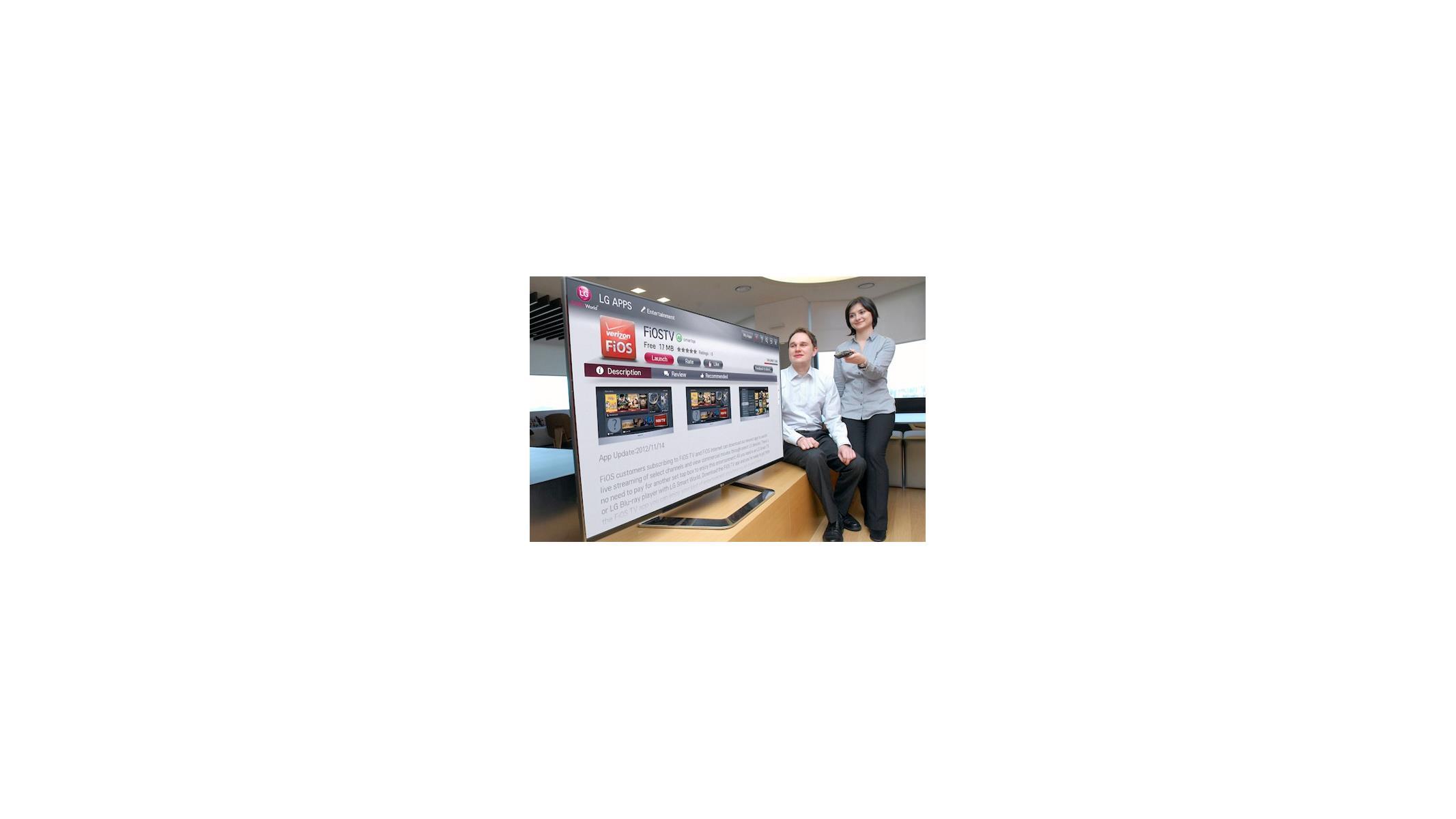 LG's Smart TV Platform Enables Direct FiOS TV Streaming