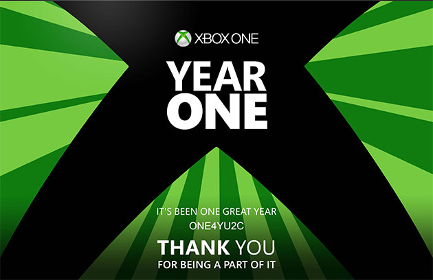Xbox One Year One