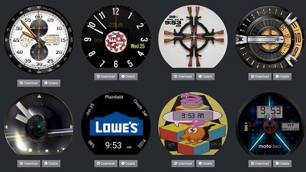 Digital Watch Faces